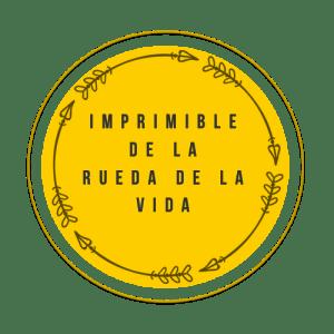 Botón del imprimible de la rueda de la vida