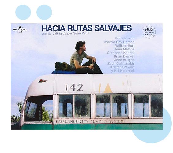 Poster Hacia rutas salvajes en tuhistoriapersonal.com