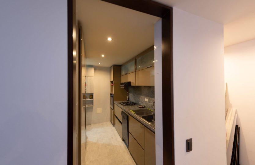 Se vende Apartamento en Pontevedra Bogota de 103m2 Cocina