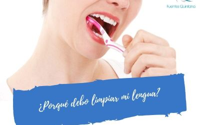 ¿Porqué debo limpiar mi lengua?