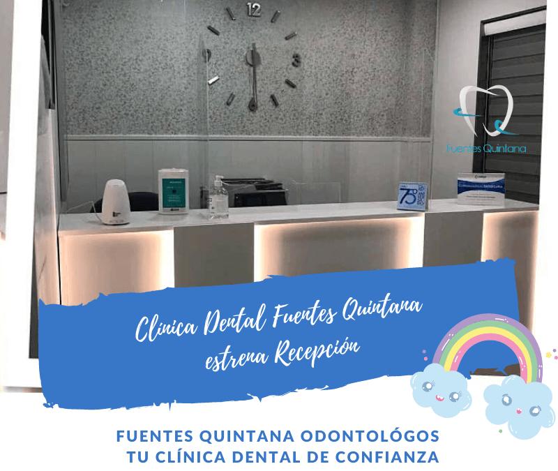 Clínica Dental Fuentes Quintana estrena recepción