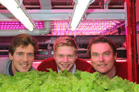 Urban Crop Solutions, de initiatiefnemers