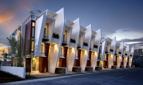 Diseño moderno de Townhouse