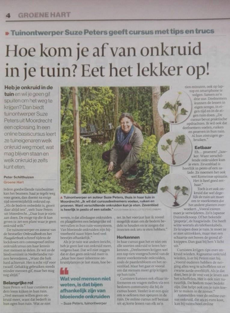 interview Algemeen Dagblad