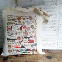 Britain wrapped up bag