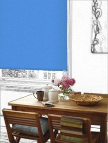 Habitat Regatta Blue Roller Blind