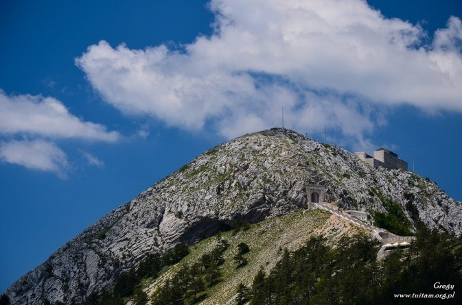 Czarnogóra - w drodze na Lovcen