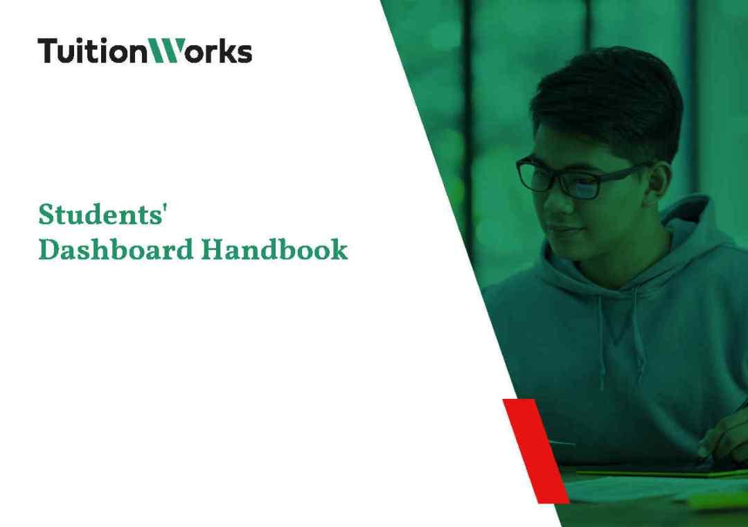 Students' Dashboard Handbook Cover