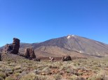Mount Teide, which dominates the Tenerife landscape, is the highest point in Spain (3,718m high)