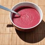 Крем супа от червено цвекло
