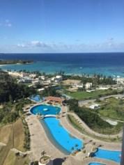 沖縄マリオットのプール