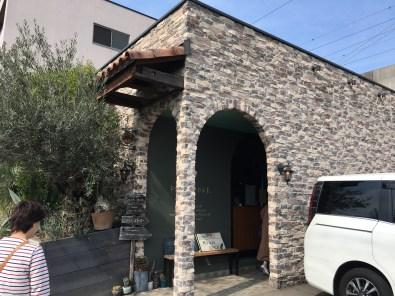 福岡のパン屋の外観