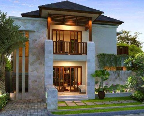 Denah Rumah Minimalis Modern 2 Lantai Kolam Renang 3d Tukang Buat
