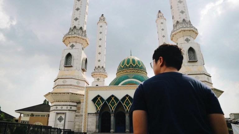 Tukang Ngider - Masjid Agung Cilegon