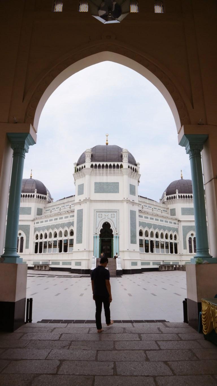 Tukang Ngider - Masjid Raya Medan