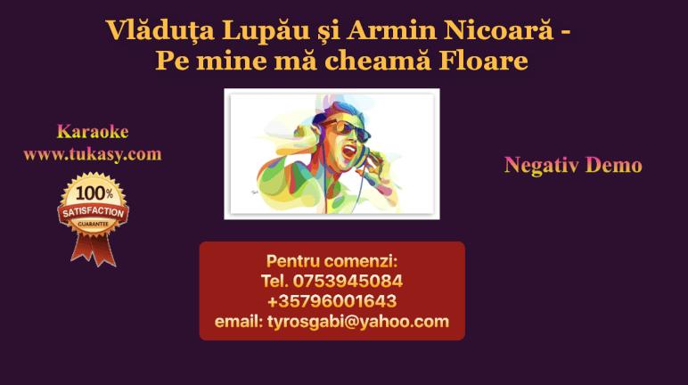 Pe mine ma cheama Floare – Vladuta Lupau si Armin Nicoara (Negativ/Karaoke/Instrumental)