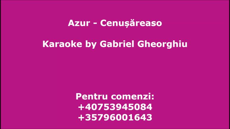 Cenusareaso – Azur