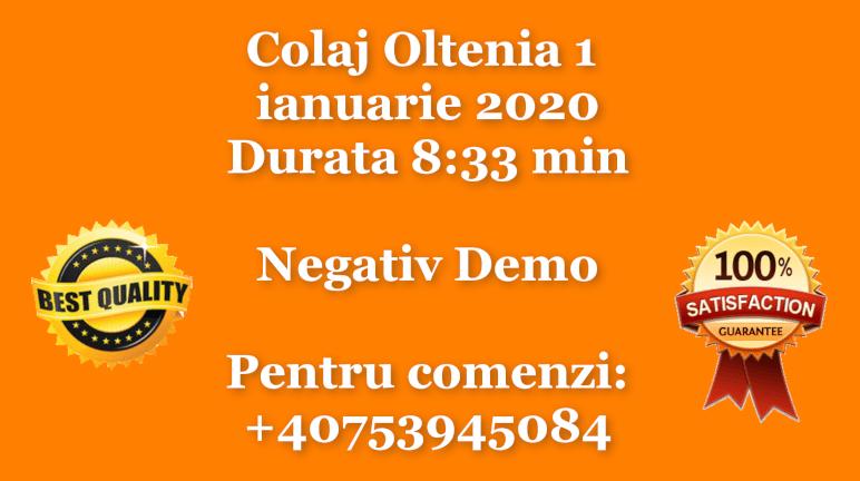 Colaj Oltenia 1 – ianuarie 2020