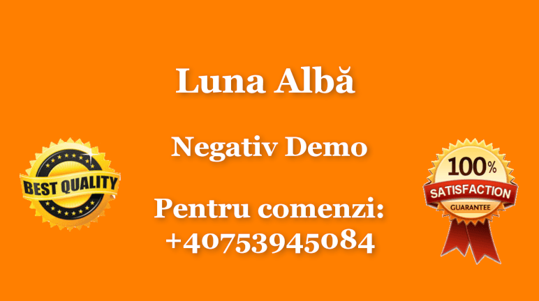 Luna Alba – Negativ Karaoke Demo by Gabriel Gheorghiu