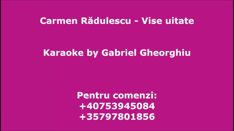 Vise uitate – Carmen Radulescu
