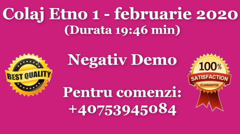 Colaj Etno 1 – februarie 2020