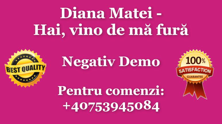 Hai, vino de ma fura – Diana Matei