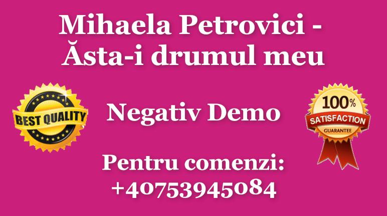 Asta-i drumul meu – Mihaela Petrovici