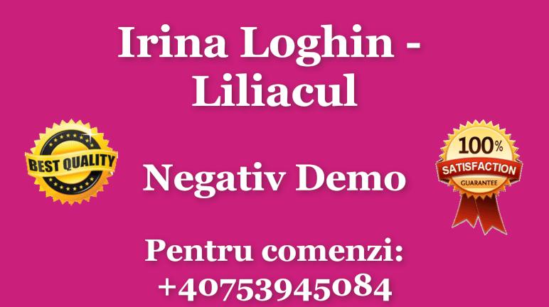 Liliacul – Irina Loghin – Negativ Karaoke Demo by Gabriel Gheorghiu