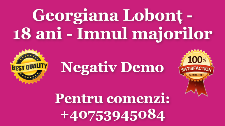 18 ani – Imnul majorilor – Georgiana Lobont
