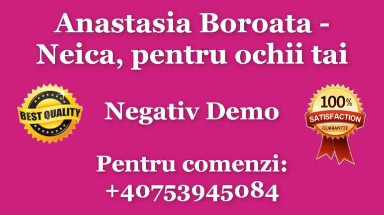 Neica, pentru ochii tai – Anastasia Boroata – Negativ Karaoke Demo by Gabriel Gheorghiu