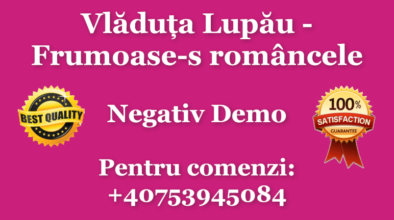 Frumoase-s romancele – Vladuta Lupau – Negativ Karaoke Demo by Gabriel Gheorghiu