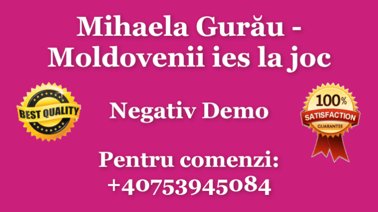 Mihaela Gurau Moldovenii ies la joc