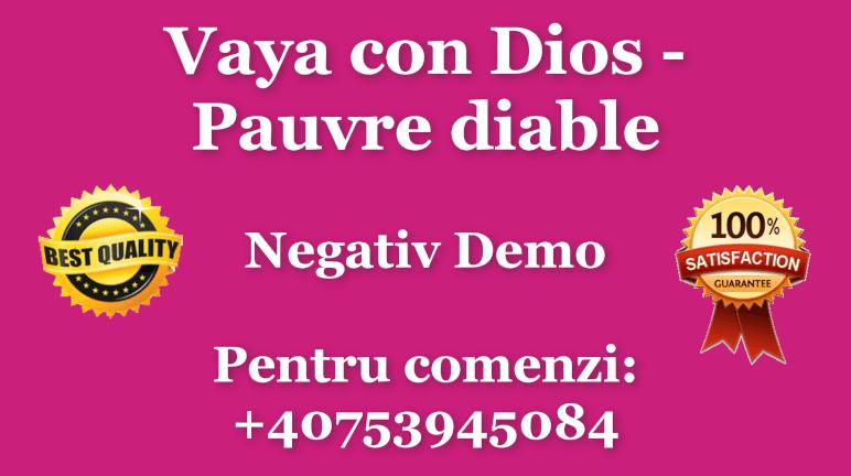 Pauvre diable (LIVE) – Vaya con Dios – Negativ Karaoke Demo