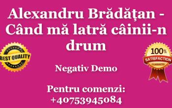 Alexandru Bradatan Cand ma latra cainii-n drum