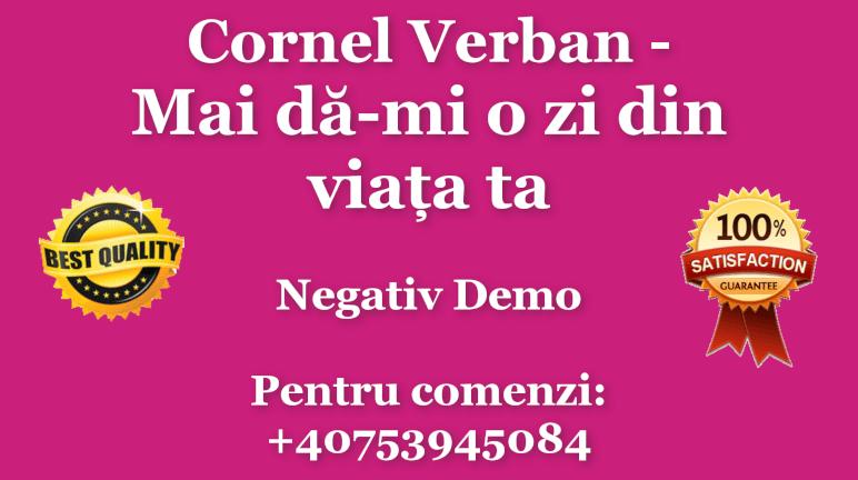 Mai da-mi o zi din viata ta – Cornel Verban – Negativ Karaoke Demo