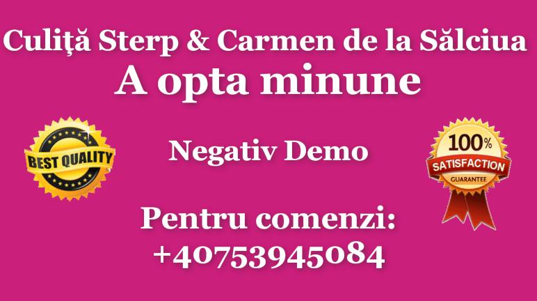 A opta minune – Culita Sterp si Carmen de la Salciua – Negativ Karaoke Demo