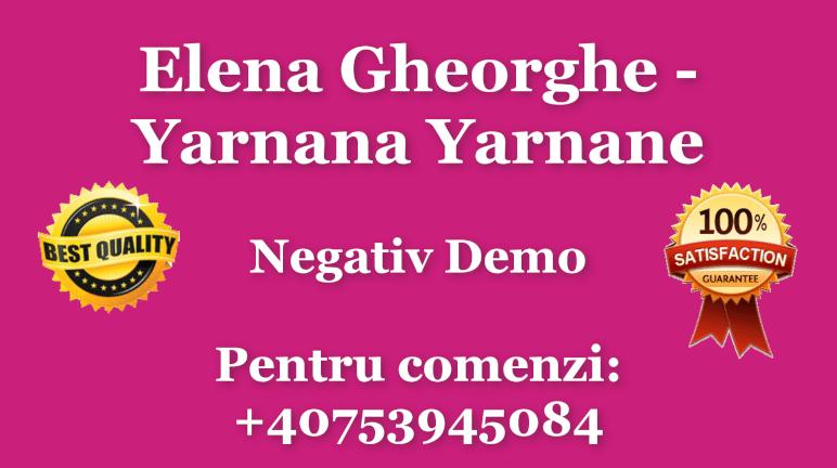 Yarnana Yarnane – Elena Gheorghe – Negativ Karaoke Demo