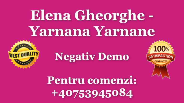 Elena Gheorghe Yarnana Yarnane