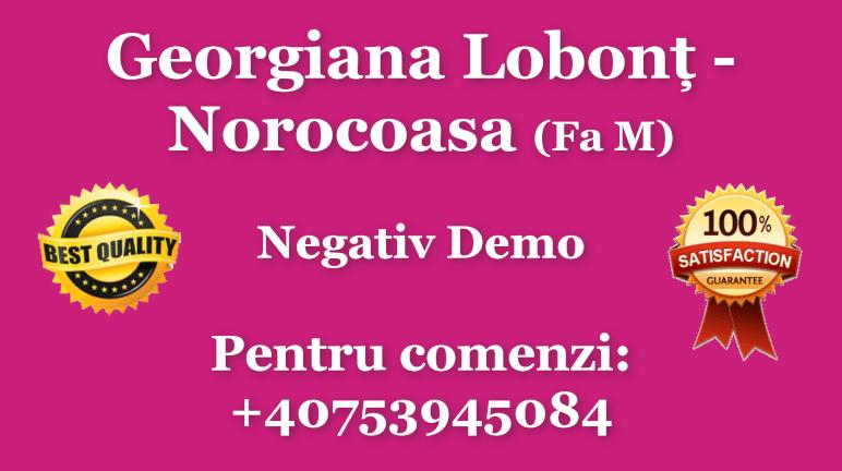 Norocoasa – Fa M – Georgiana Lobont – Negativ Karaoke Demo