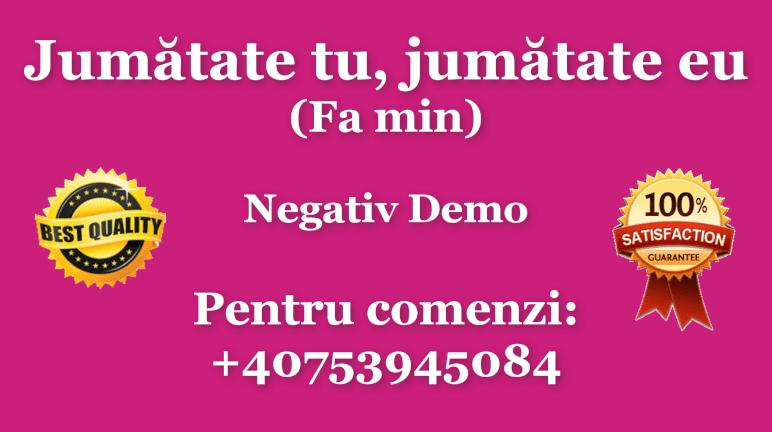 Jumatate tu, jumatate eu – Fa minor – Negativ Karaoke Demo