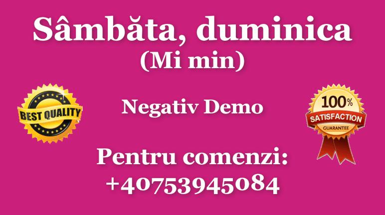 Sambata, duminica – Mi minor – Negativ Karaoke Demo