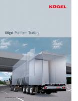 Kögel Platform Trailers