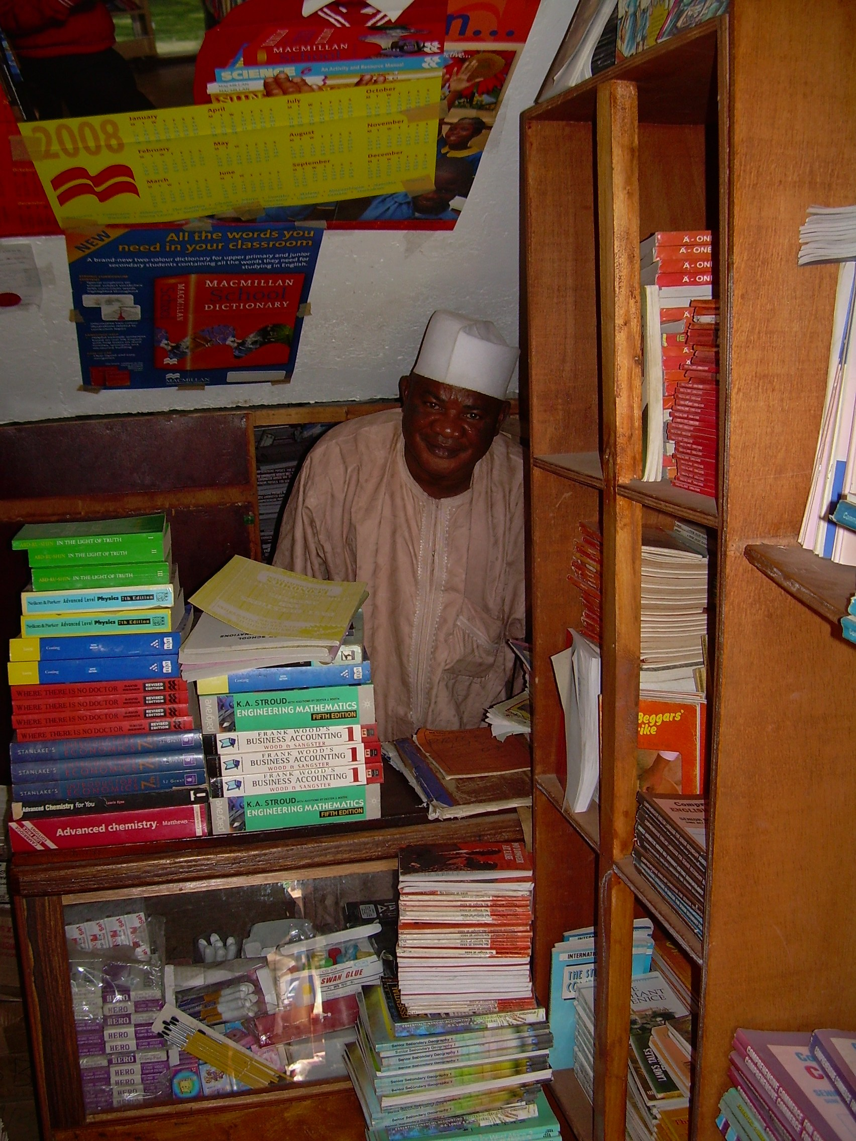 bookshop in banjul