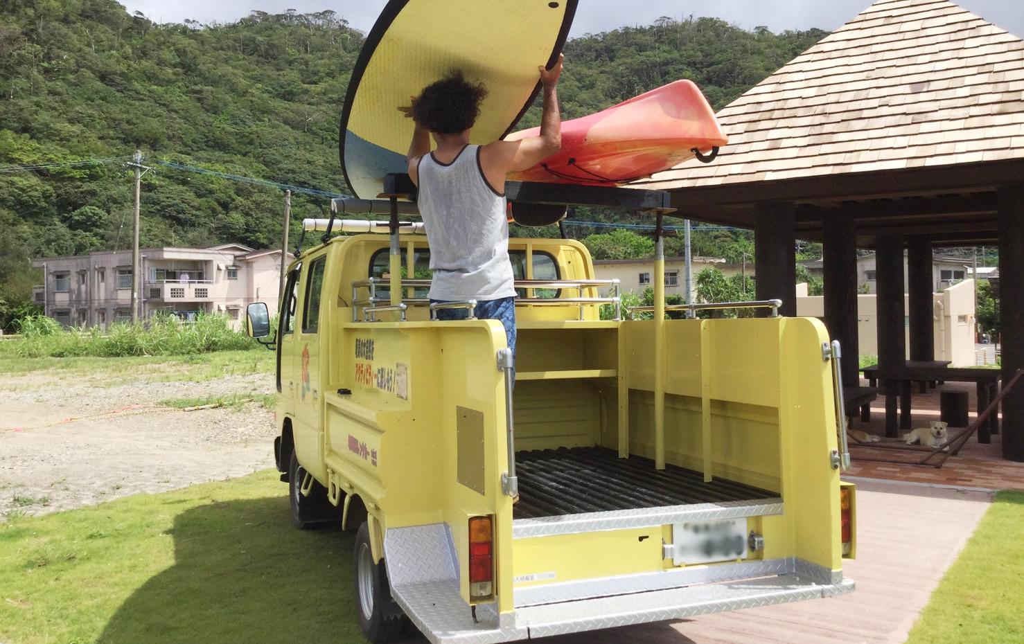 レンタカー奄美 カヌー