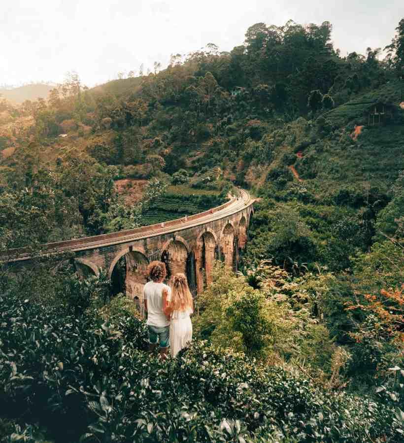 Things-to-do-Ella-Sri-Lanka-Nine-arch-bridge-couple-view