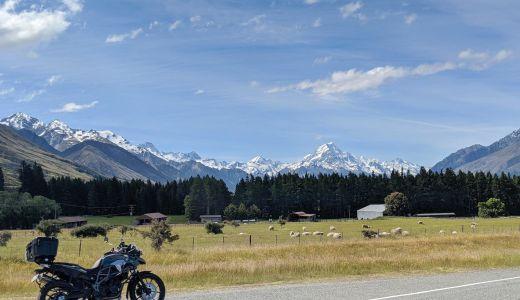 ニュージーランドで借りたレンタルバイクとツーリング事情