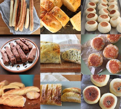 おうちパン9種メニュー