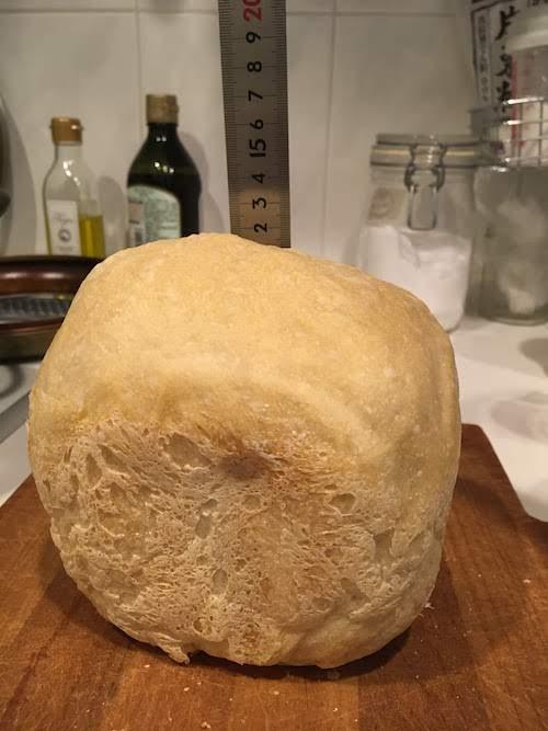 膨らまないホームベーカリー食パン