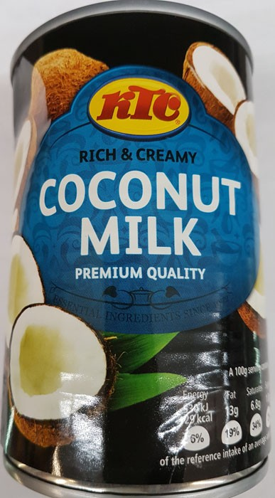 KTC Coconut Milk, 400g