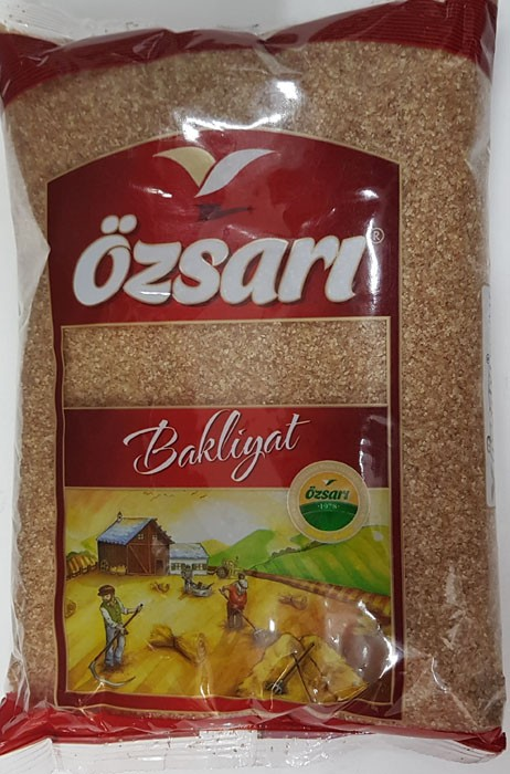 Ozari Burgul-Brown, Craked Wheat, 1000g